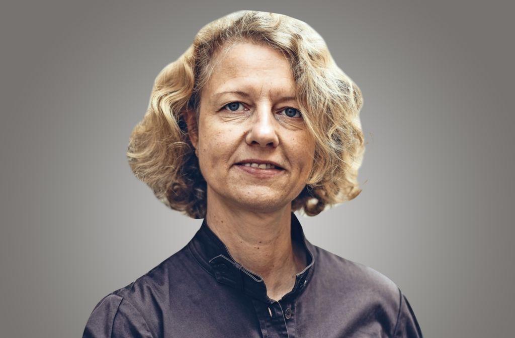 Kathrin Wesely berichtet aus dem Stuttgarter Westen. Foto: Lichtgut/Leif Piechowski