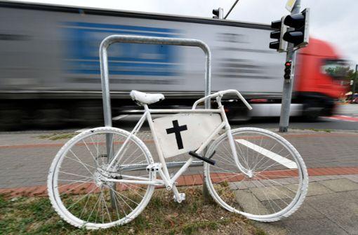 Deutlich mehr tödliche Unfälle mit Fahrrädern