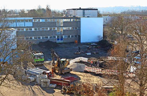Der Bau des Schulcampus hat begonnen