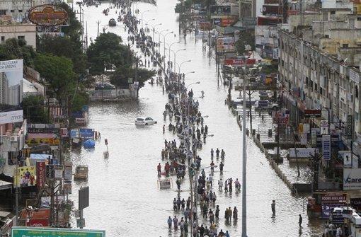 Die Armen trifft die Flut am Schlimmsten