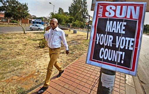 Mit dem Erbe Mandelas auf Stimmenfang