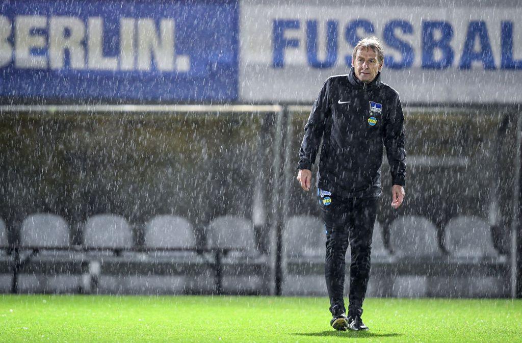 Das Kapitel Hertha BSC ist für Klinsmann auf allen Ebenen beendet. Foto: dpa/Britta Pedersen