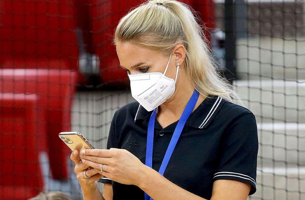 Die Arbeit wird nicht weniger: Kim Renkema, Sportdirektorin von Allianz MTV Stuttgart. Foto: Baumann