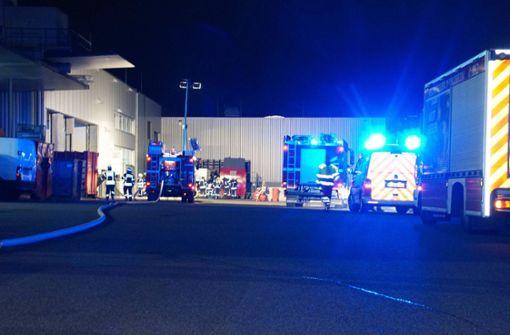 Drei Verletzte und Millionenschaden nach Feuer in Druckerei