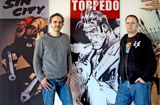 Ludwigsburger verlegen Kult-Comics