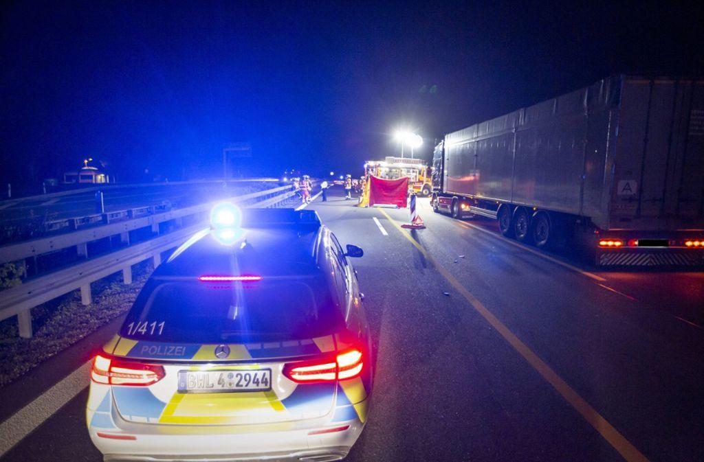 Auf der A81 ist eine Frau gestorben. Foto: 7aktuell.de/Simon Adomat