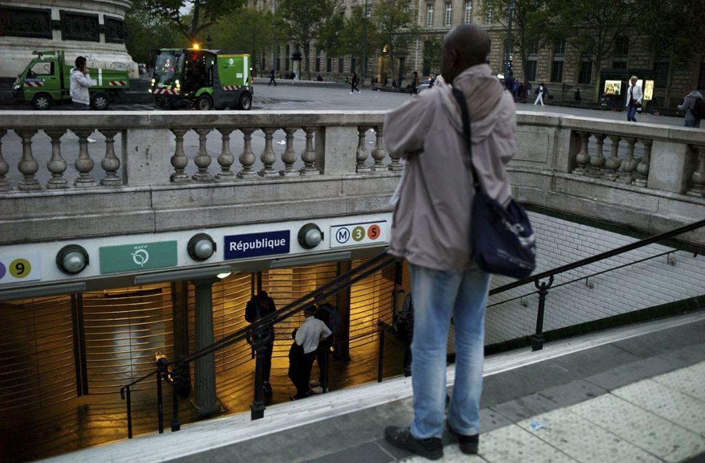Wegen eines Streiks verkehrten zehn Pariser Metrolinien am Freitag gar nicht. Foto: dpa/Thibault Camus