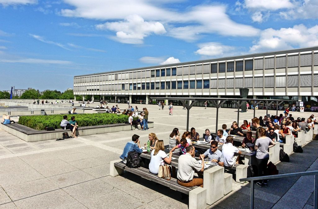 Der Campus der Pädagogischen Hochschule in Ludwigsburg. Mehr als 6000 Studenten sind dort eingeschrieben – ein Höchststand. Foto: factum//Jürgen Bach