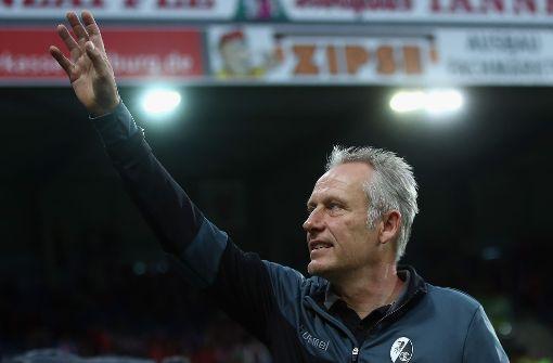 Christian Streich bleibt beim SC Freiburg