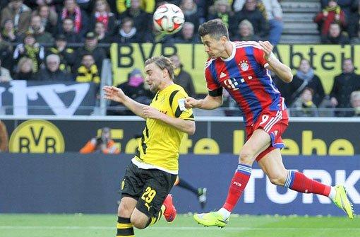 Lewandowski schießt die Bayern zum Sieg