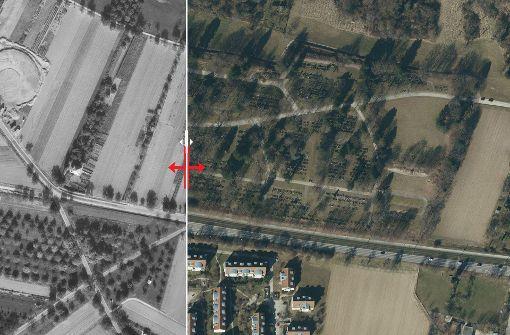 Der jüngste Friedhof im Stadtbezirk