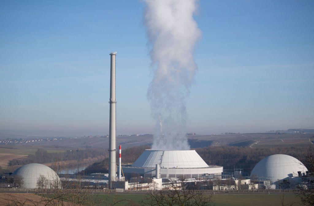 Der Atomschutt vom Abriss des Kraftwerkes Neckarwestheim lässt auf sich warten. Foto: dpa/Marijan Murat