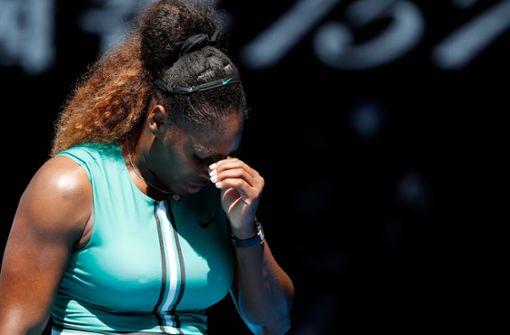 Matchball-Drama um Serena Williams