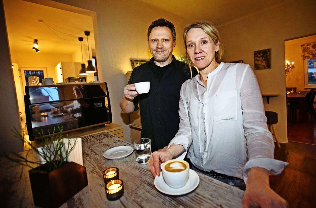 Achim und Manuela Müller wollen das Viertel am  Barbarossasee beleben. Foto: Ines Rudel