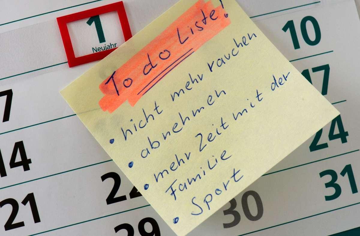 To-Do-Listen? Jörg Scheller hält nichts von derlei Abhak-Mentalität. Foto: dpa