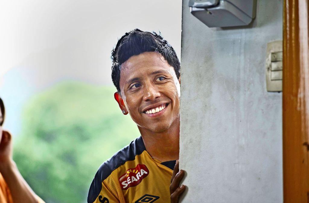 Besitzt zwei außergewöhnliche Vornamen:  der brasilianische Ex-Fußballer Overath Breitner da Silva Foto:
