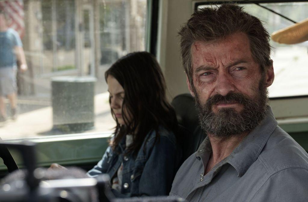 Der im Untergrund lebende Logan (Hugh Jackman) wird zum Beschützer von Laura (Dafne Keen). Foto: 20th Century Fox