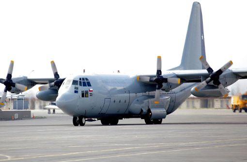 Militärflugzeug auf Flug in die Antarktis verschollen