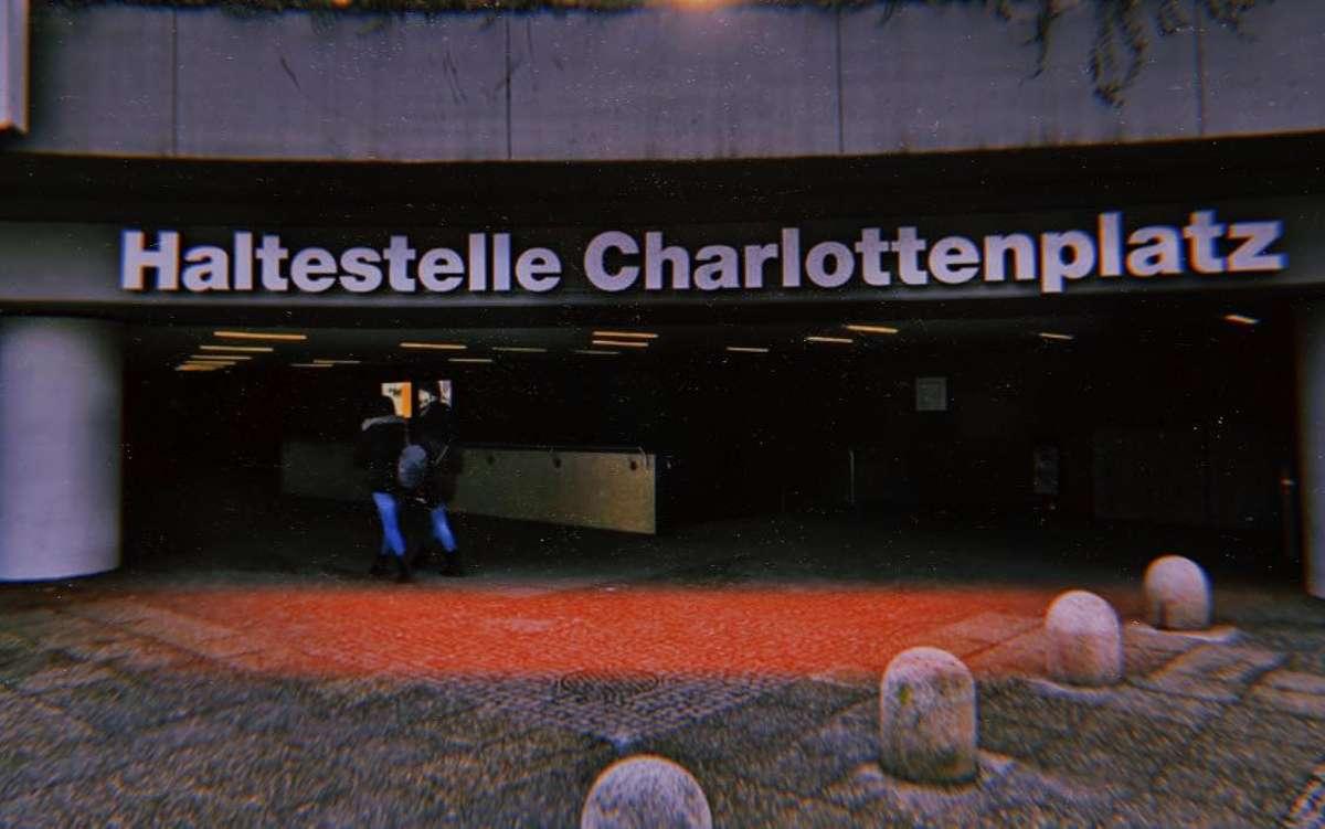 Unser Autor hat eine Schwäche für das Beton-Biotop Charlottenplatz – in dieser Liebeserklärung erfahrt ihr warum. Foto: Björn Springorum
