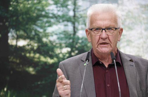 """Kretschmann nennt Warnung vor grüner Gefahr und Verboten  """"Stuss"""""""