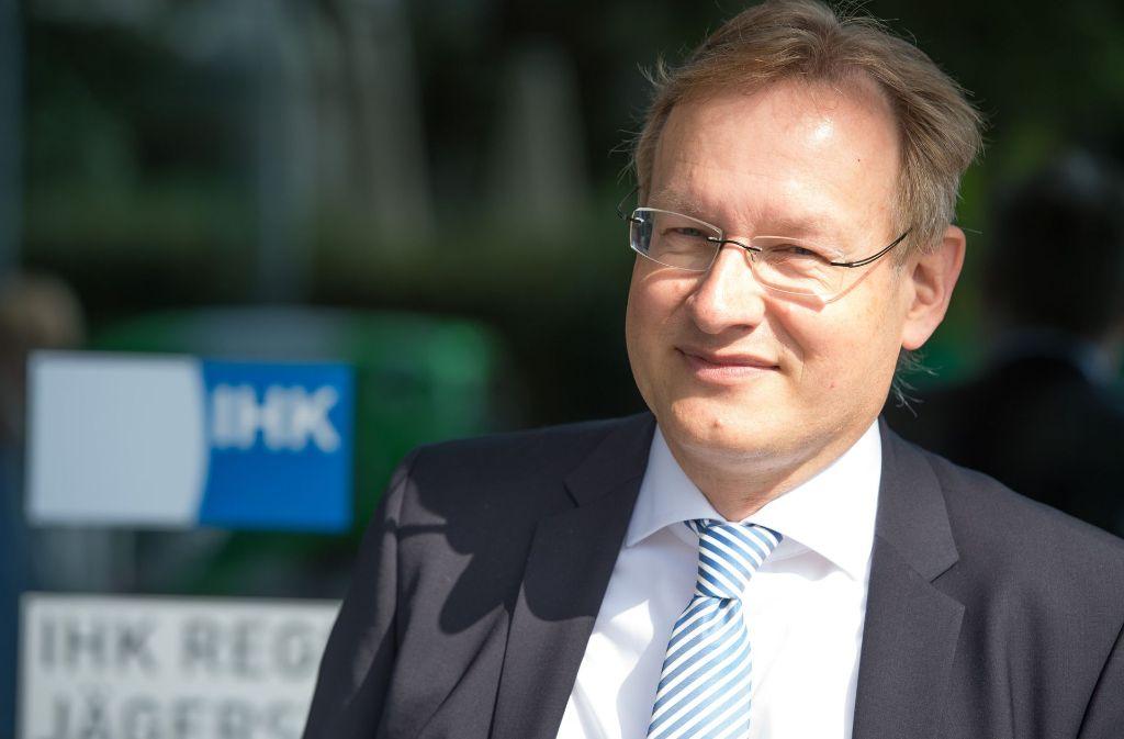 Johannes Schmalzl führt in den kommenden Jahren die Geschäfte der IHK Region Stuttgart. Foto: dpa