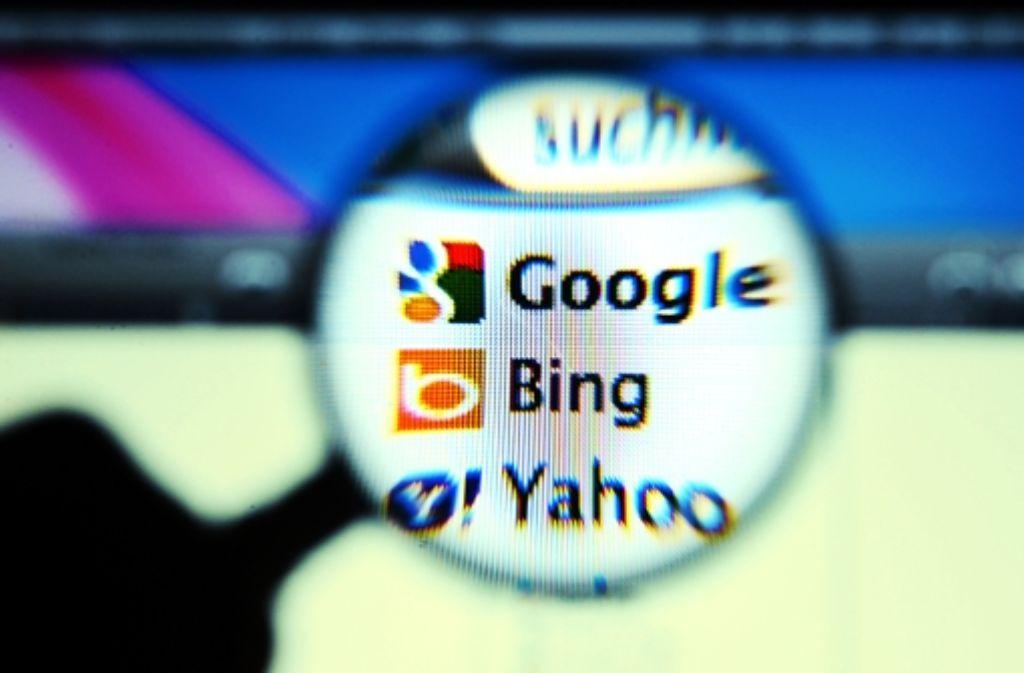 Die Suchmaschinenindustrie Foto: dapd