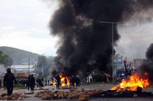 Tote und Verletzte bei Streik