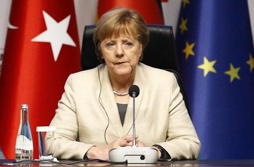Merkel besorgt über Entwicklungen in der Türkei