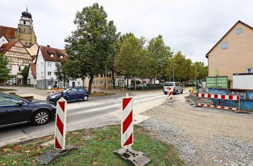 Die fußgängerfreundliche Bundesstraße