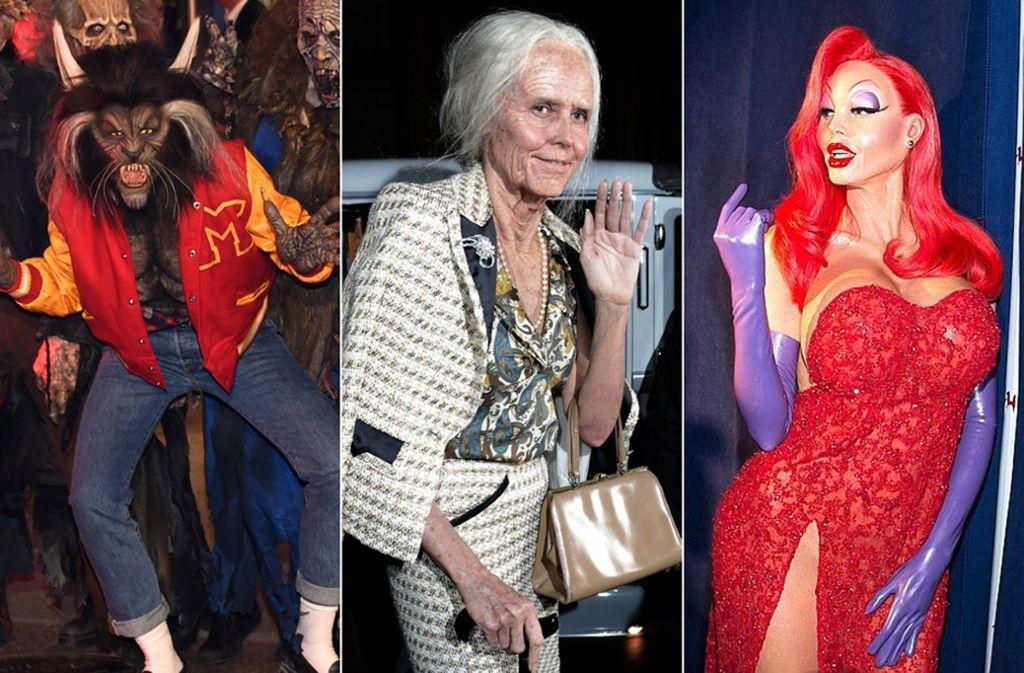 Heidi Klum liebt es, sich zu verkleiden. Da kommt Halloween genau richtig. Foto: dpa/AP