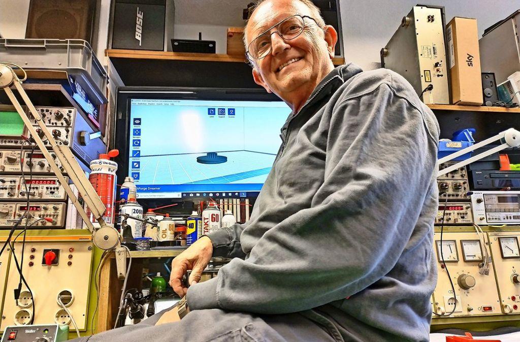 Mit seinen 65 Jahren könnte sich Hans-Peter Knirsch auch zur Ruhe setzen. Das kommt für ihn aber überhaupt nicht in Frage. Foto: Kathrin Wesely