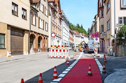 Geiselbachstraße  ab Freitag wieder frei