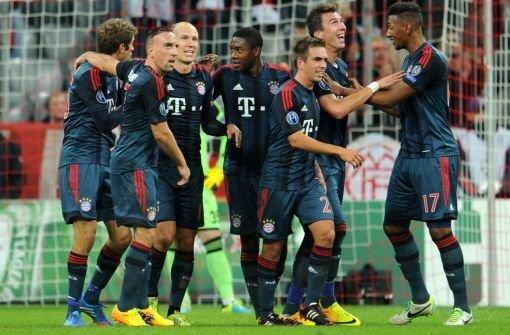 FC Bayern besiegt ZSKA Moskau 3:0