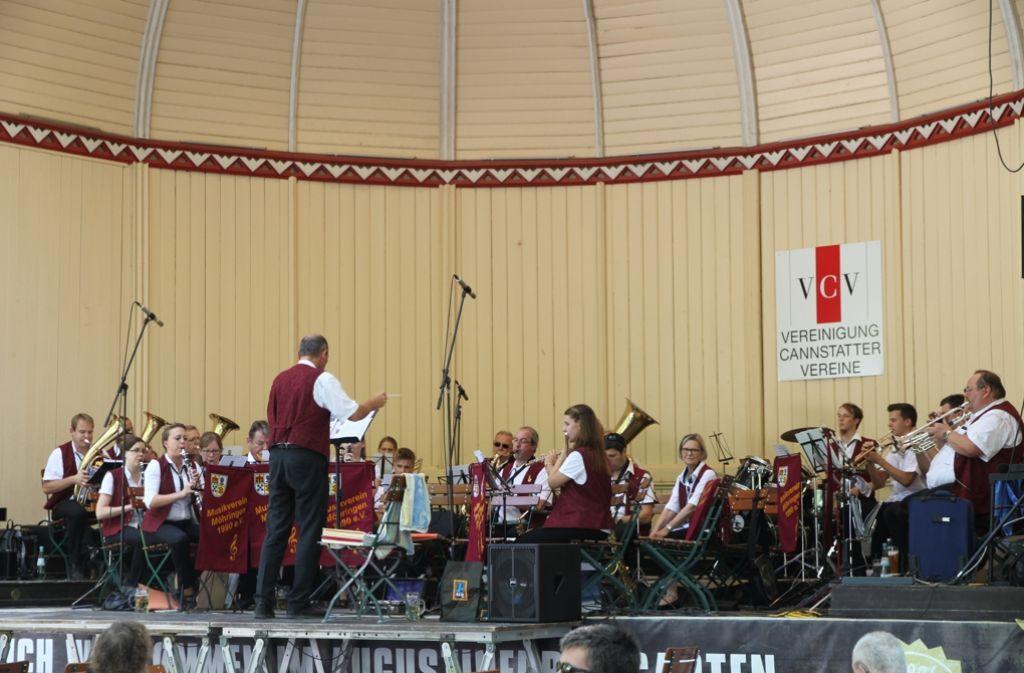 Der Musikverein Möhringen tritt am 7. August im Kurpark auf. Foto: Veranstalter