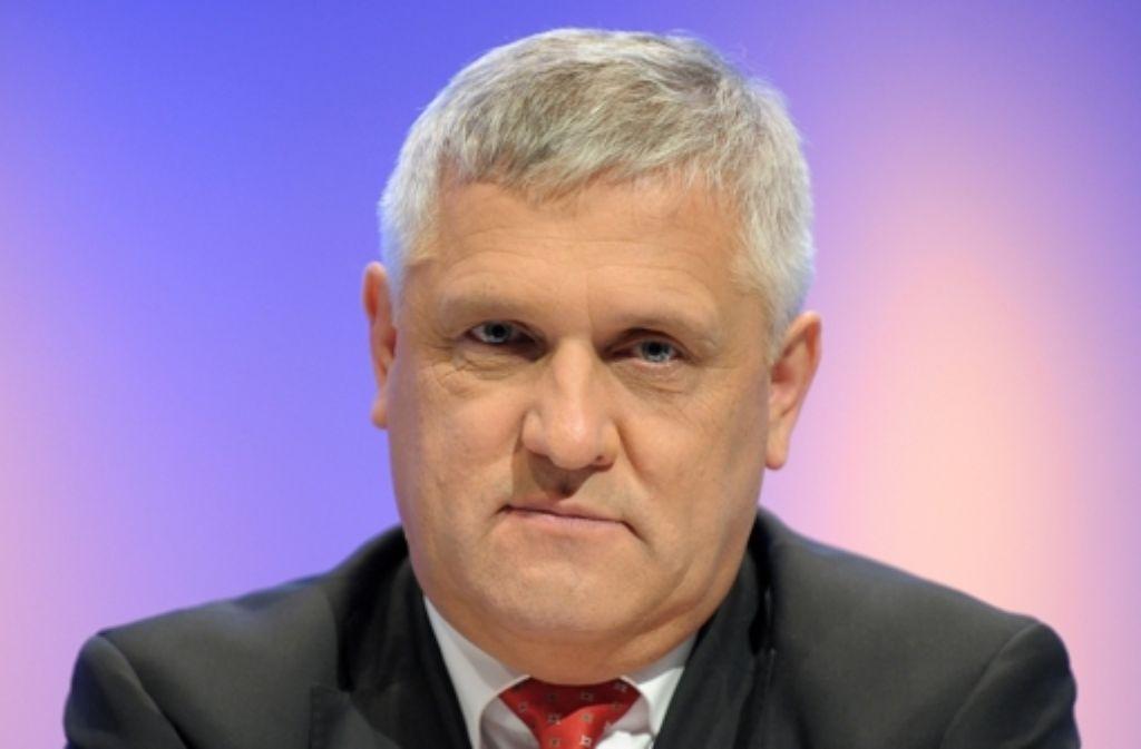 Der Technik-Vorstand Hans-Josef Zimmer Foto: dpa