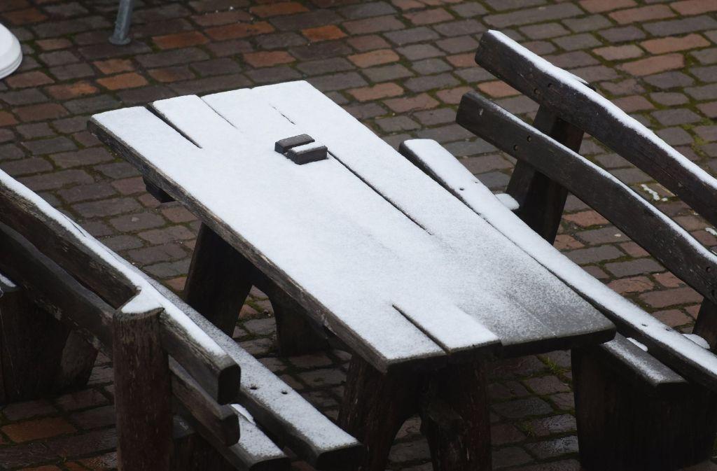 Extremer Wintereinbruch: Schnee bis ins Flachland!