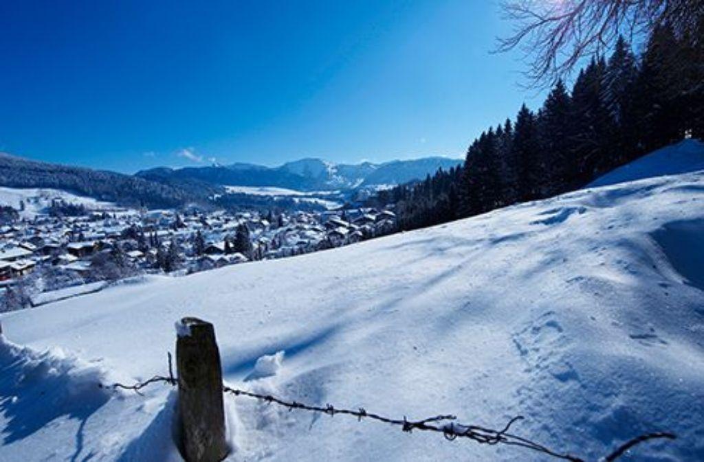 Wintermärchen in Oberstaufen  Foto: Oberstaufen Tourismus