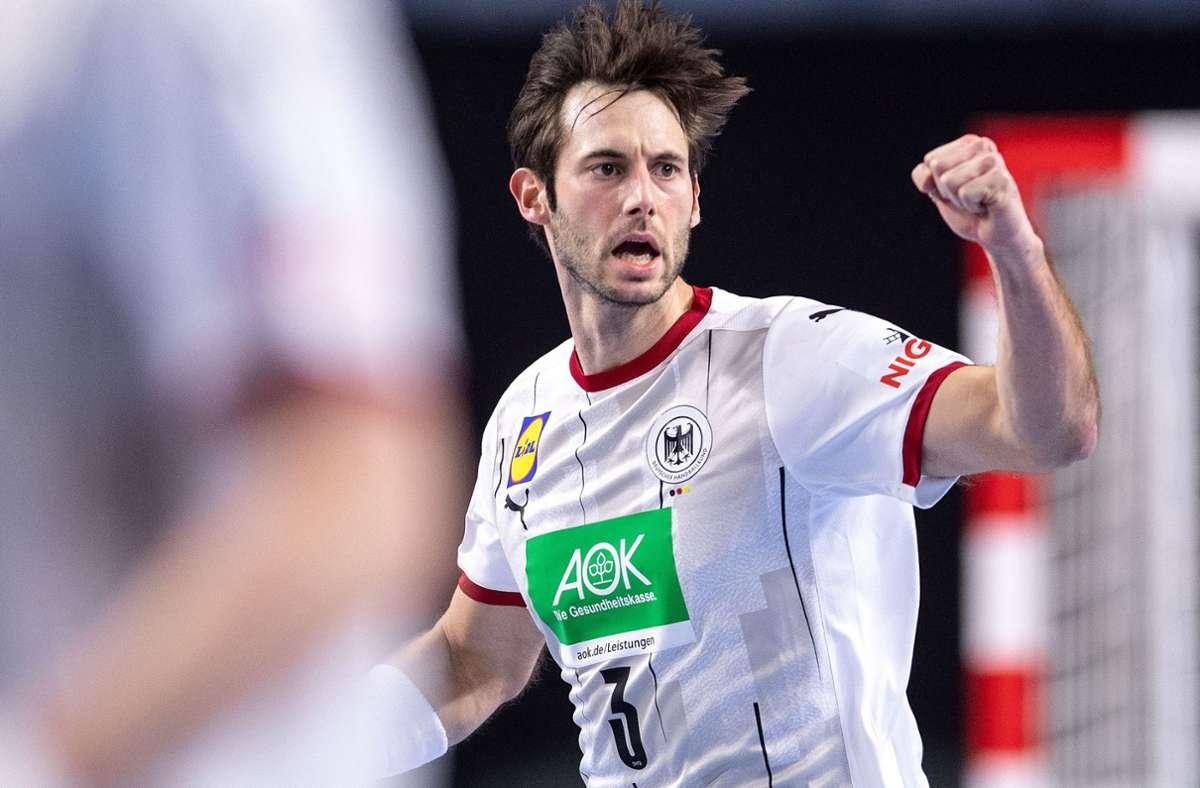 Uwe Gensheimer gibt sich kämpferisch – die Körpersprache des Kapitäns im Trikot der Handball-Nationalmannschaft wurde aber auch schon kritisiert. Foto: dpa//Marius Becker