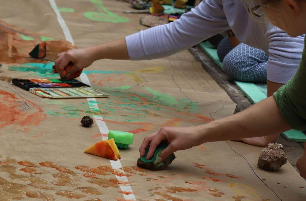 Der Nachwuchs hat im Waldheim unbeschwerte Sommerferien. Foto: Patricia Sigerist