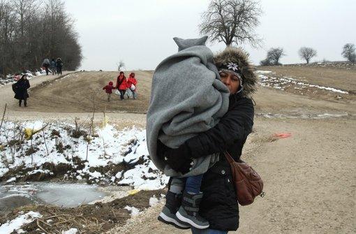 Geschlossene Grenzen auf der Balkanroute