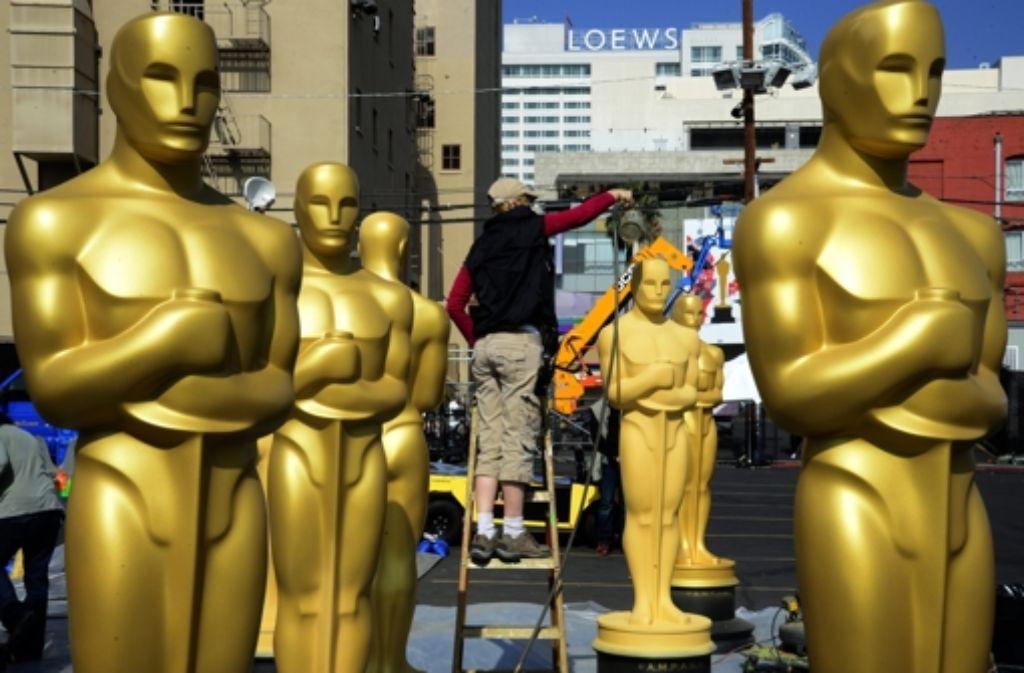 Die Oscar-Vorbereitungen laufen schon – Reibereien gibt es jetzt schon. Foto: