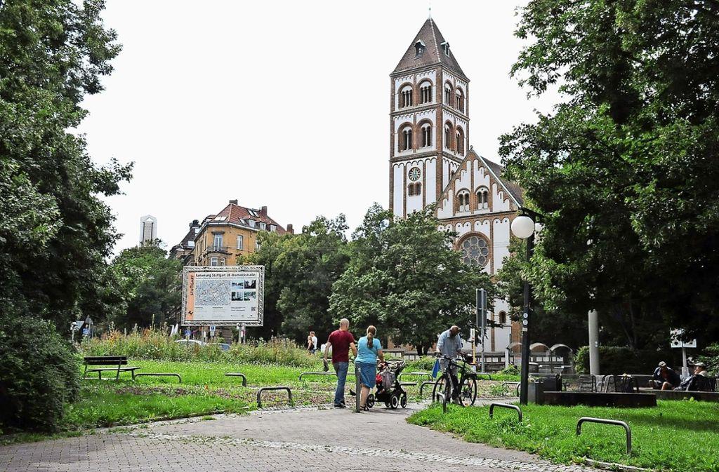 Zum Bismarckplatz gab es eine umfangreiche Bürgerbeteiligung. Foto: Archiv/ Georg Linsenmann