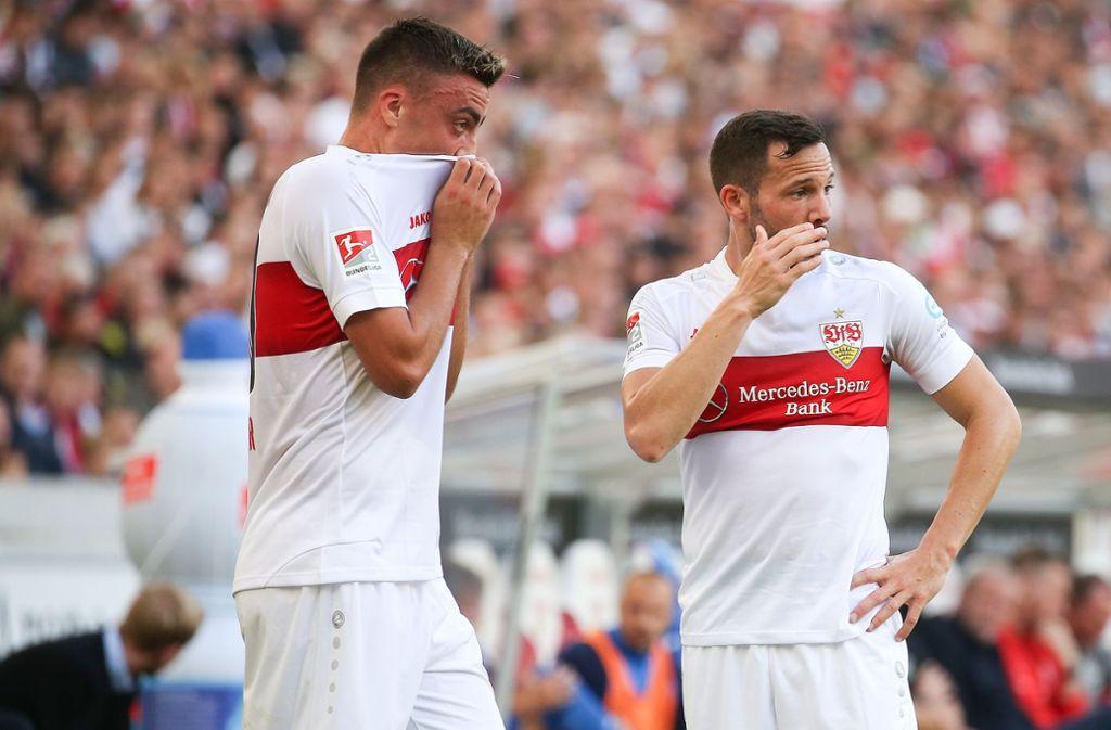 Der VfB Stuttgart hat sein Heimspiel gegen Holstein Kiel verloren. Foto: Pressefoto Baumann/Alexander Keppler