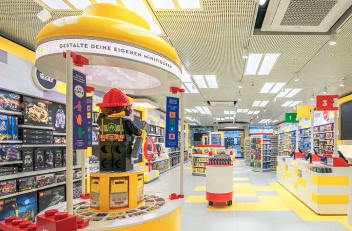 Auf der Königstraße in Stuttgart hat Lego einen Laden eröffnet. Foto: Lego Group