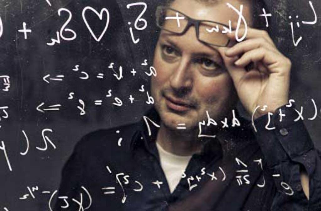 Mathematik besteht vordergründig aus Formeln, aber letztlich geht es nur um Ideen, sagt Christian Hesse Foto: Ivo Kljuce