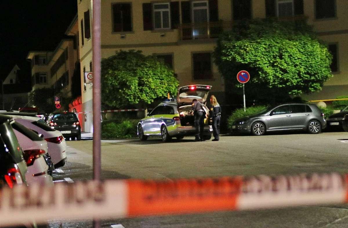 Die Polizei ermittelt nach den Schüssen in Göppingen weiter. Foto: 7aktuell.de/Kevin Lermer/7aktuell.de | Kevin Lermer