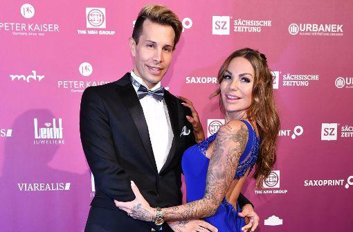 Gina Lisa Lohfink und Florian Wess zu Gast bei Lugner