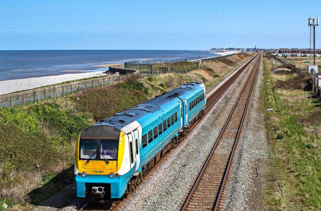 Der Verkauf der  Auslandstochter der Bahn, der britischen Arriva,  soll mehrere Milliarden Euro einbringen. Foto: dpa/Peter Byrne
