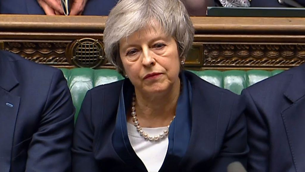 Theresa May hat Scheitern aus zwei Gründen verschuldet