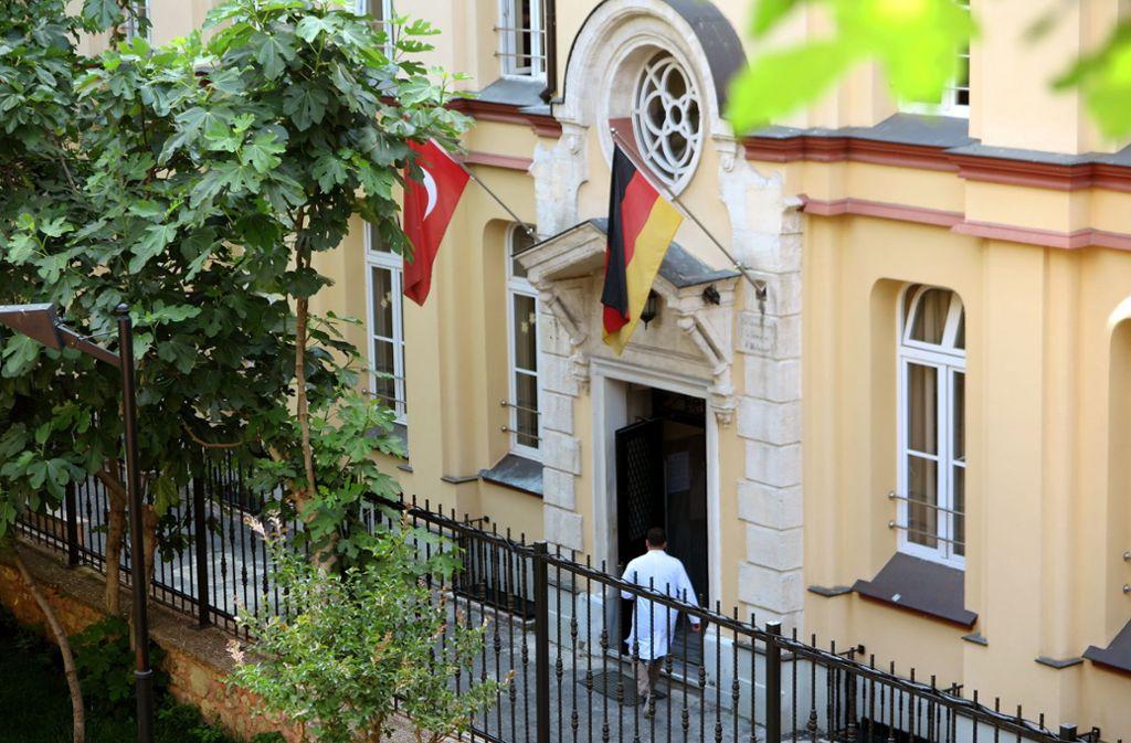 Die Deutsche Schule in Istanbul ist eine von drei deutschen Auslandsschulen in der Türkei Foto: dpa/Can Merey